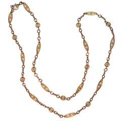 Yellow Gold 18 Karat Necklace