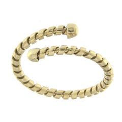 Yellow Gold 18 Karat Tubogas Ring