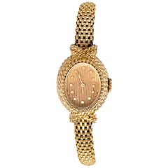 YBoucheron ellow Gold  1960s Ladies Watch