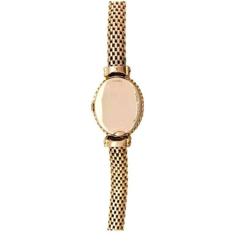 YBoucheron ellow Gold  1960s Ladies Watch In Excellent Condition For Sale In Paris, IDF