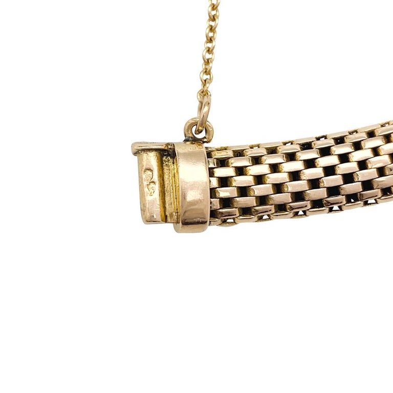 YBoucheron ellow Gold  1960s Ladies Watch For Sale 1
