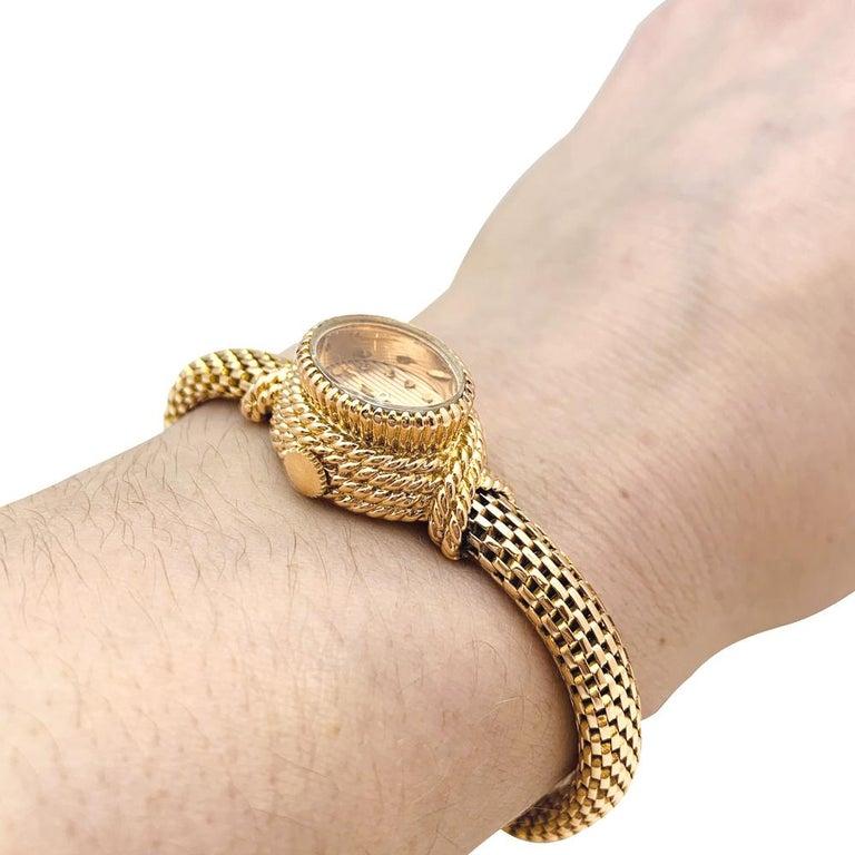 YBoucheron ellow Gold  1960s Ladies Watch For Sale 2