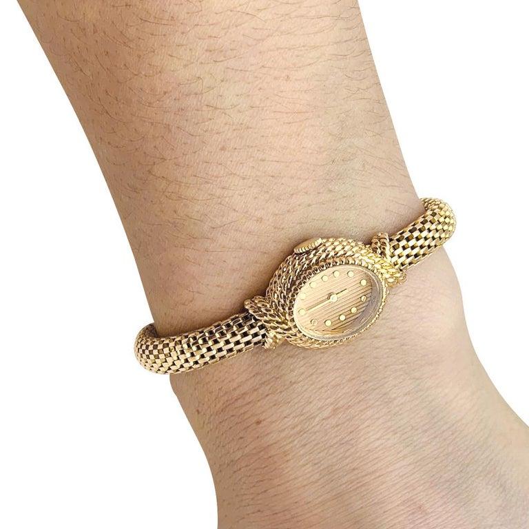 YBoucheron ellow Gold  1960s Ladies Watch For Sale 3