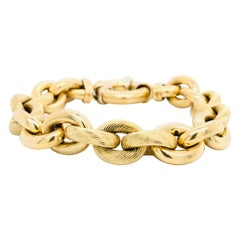 Yellow Gold Bracelet Forcat Mesh 18 Karat