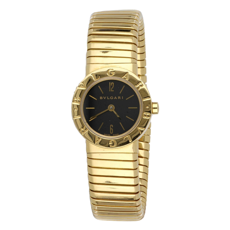 Yellow Gold Bulgari Tubogas Ladies Watch