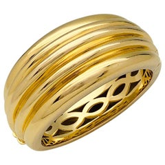 Yellow Gold Cartier Bangle Bracelet