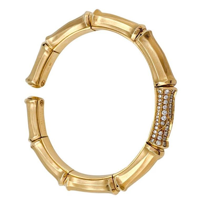 A 18 kt yellow gold articulated Cartier bracelet,