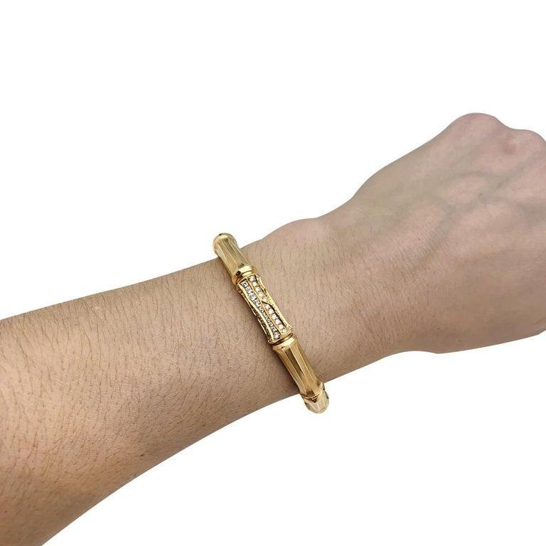 Women's or Men's Yellow Gold Cartier Bracelet