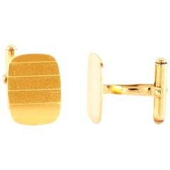 Yellow Gold Cufflinks