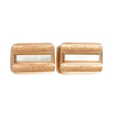 Yellow Gold Cufflinks
