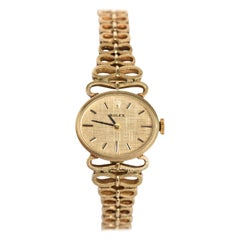 Yellow Gold Ladies Rolex 1940s Watch