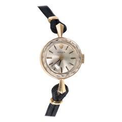 Yellow Gold Ladies Rolex Watch