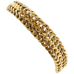 Yellow Gold Retrò Bracelet