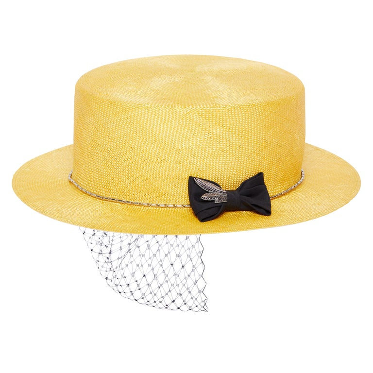 Yellow hat NWOT