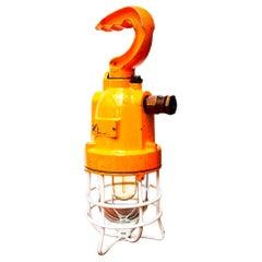 Yellow Inspection Lamp V1, Italy, circa 1960-1969