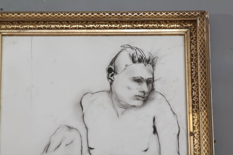 Yellow Leg Male Drawing In Good Condition For Sale In Seattle, WA