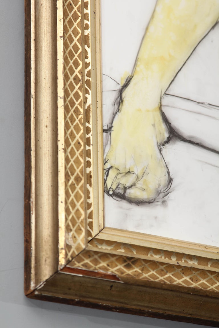 Yellow Leg Male Drawing For Sale 2