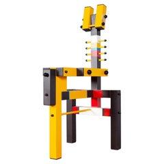 Yellow Lego Chair