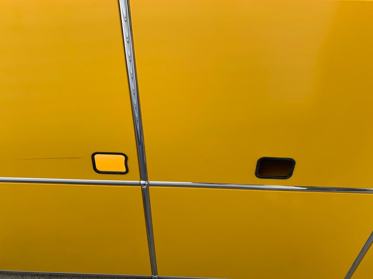 Yellow Metal Credenza by USM Haller For Sale 9