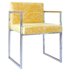 Yellow Paris Outdoor Chair by Gianna Farina & Marco Gorini