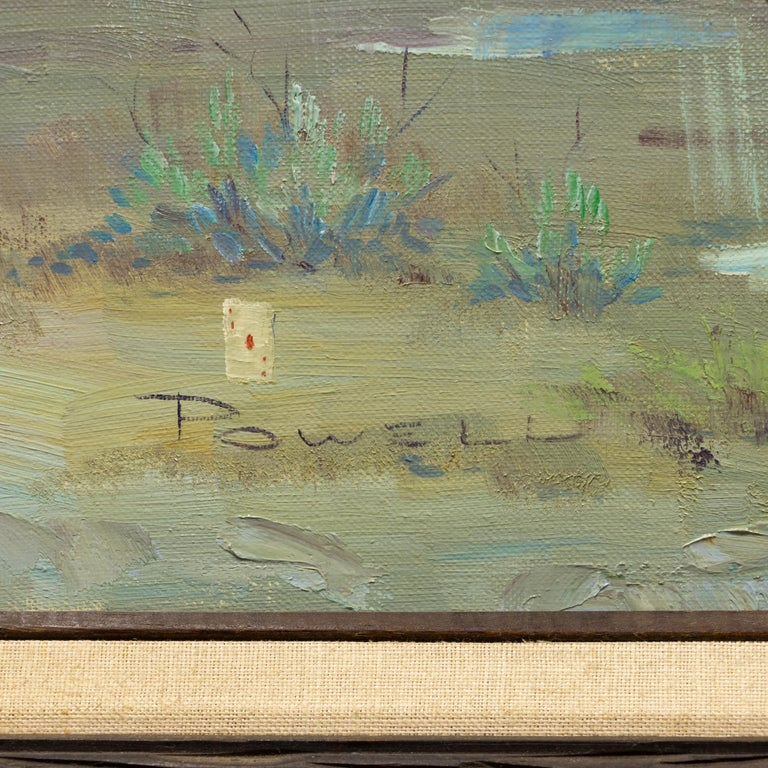 Oil on canvas 20