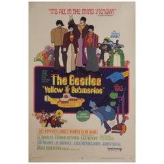 Yellow Submarine '1968' Poster