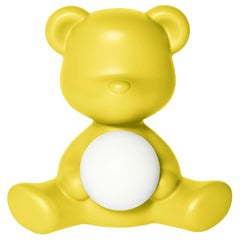 In Stock in Los Angeles, Yellow Teddy Bear Lamp LED Rechargeable