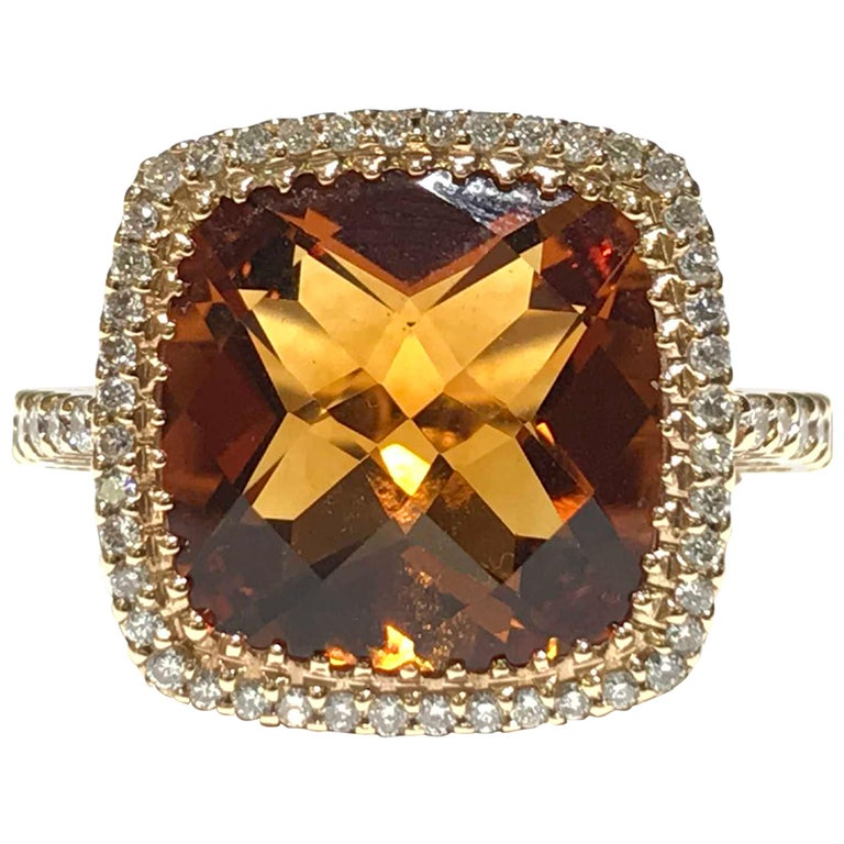 Yellow Topaz Ring For Sale At 1stdibs