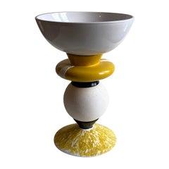 Yellow Vase by Mascia Meccani, 2019