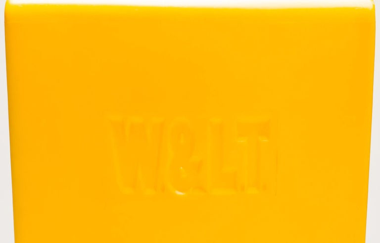 Late 20th Century Yellow WL&T Chair by Marc Newson for Walter Van Beirendonck For Sale