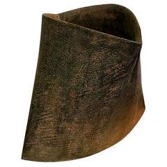 Yeo Byong-uk Korean Multi-Fired Stoneware Pottery Ceramic Vessel Vase Sculpture