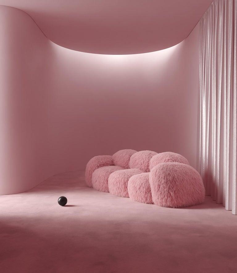 Modern Yeti Triple Sofa by Vladimir Naumov