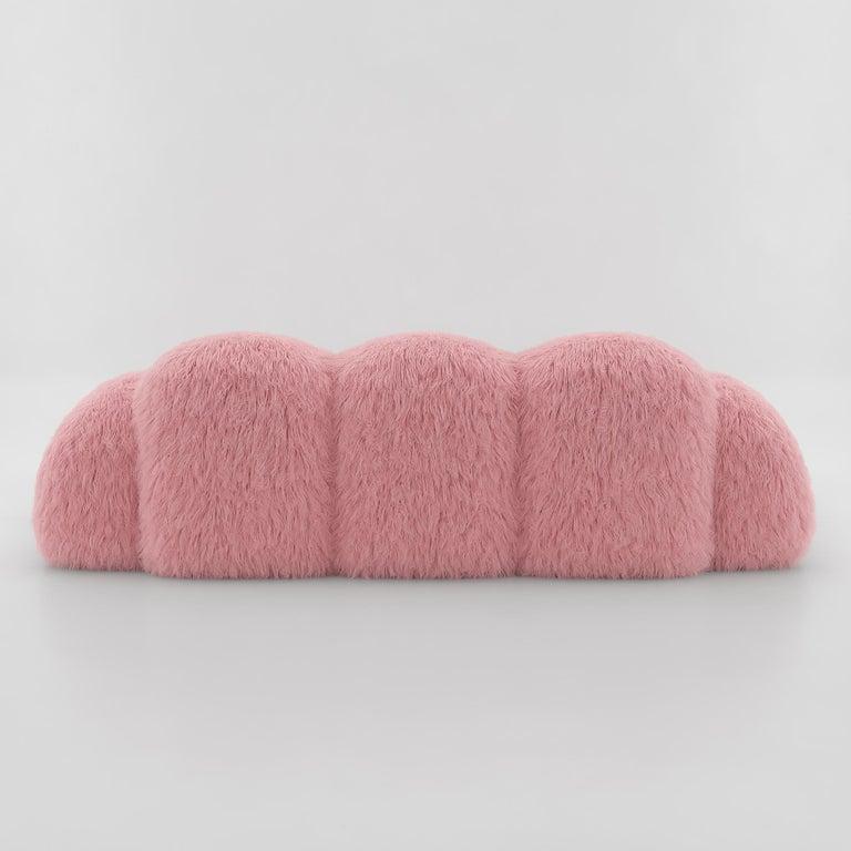 Contemporary Yeti Triple Sofa by Vladimir Naumov
