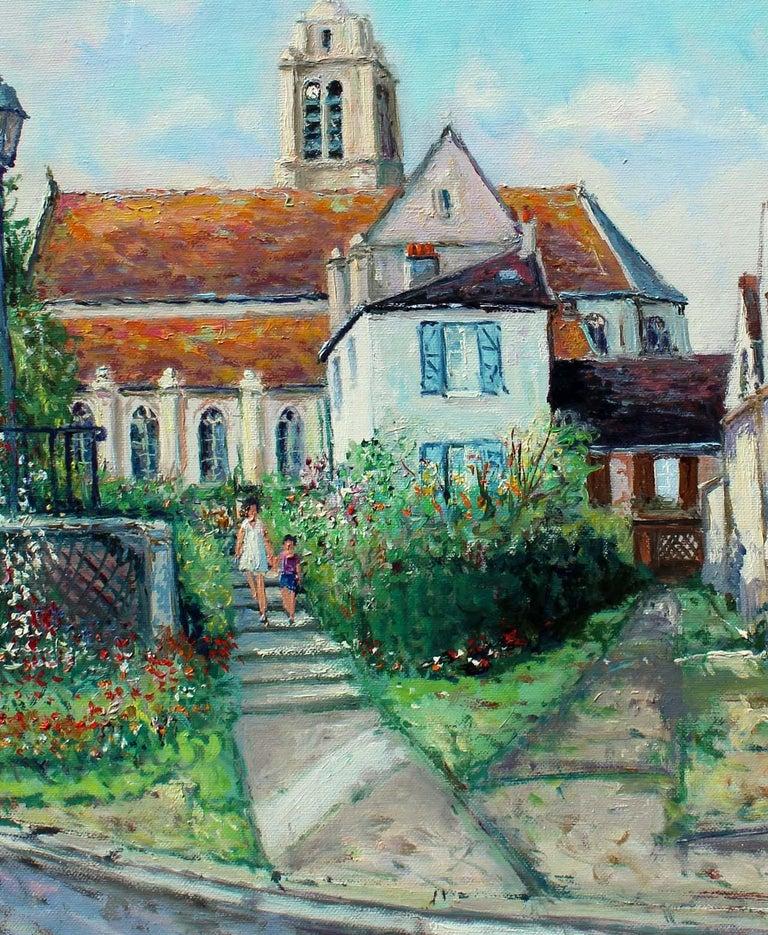 France, ëglise d' ëpiais - Rhus en Vexin. - Painting by Yetvart Kaprielian