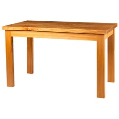 Yew Wood Center Table by Alan Peters, England, circa 1980