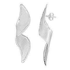 Yianni Creations Fine Silver and Palladium Handmade Artisan Earrings