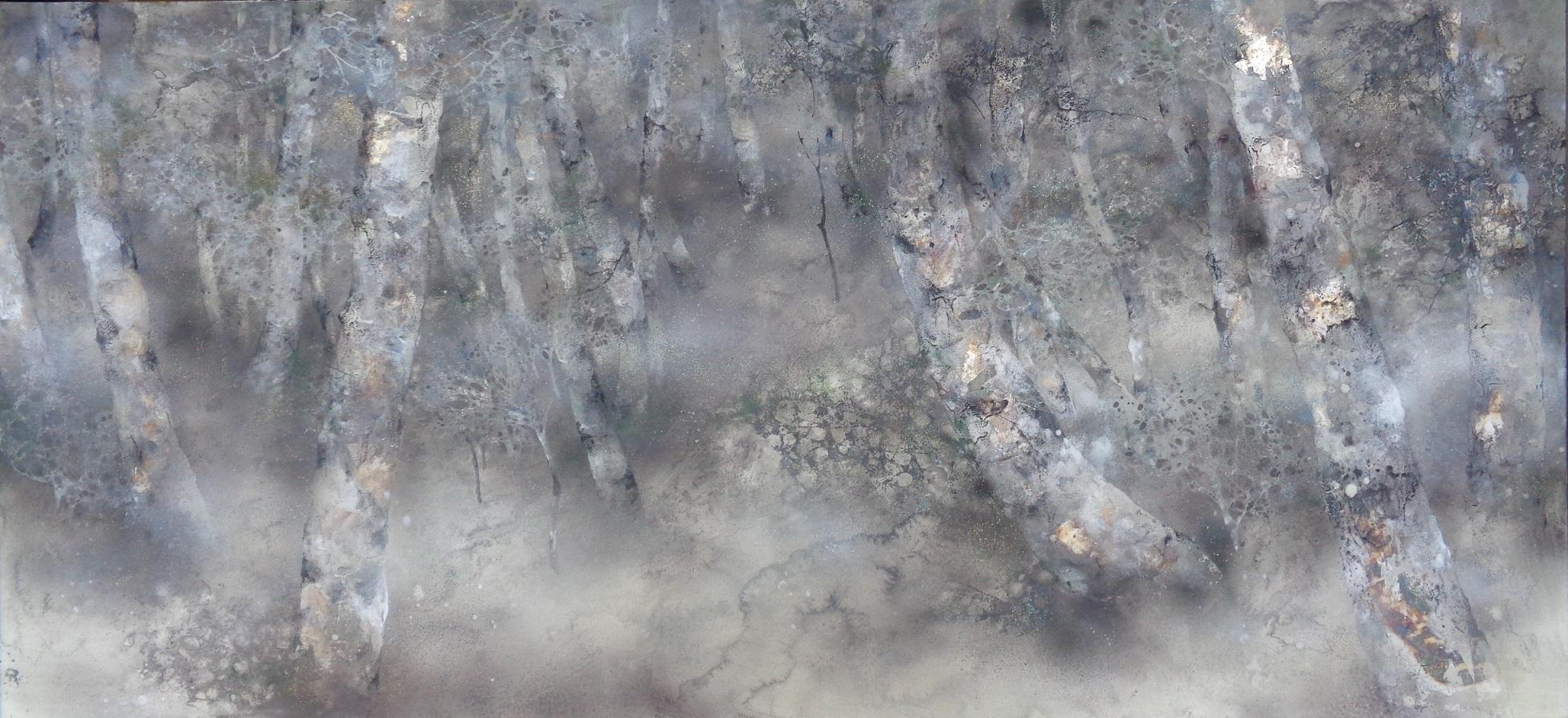 Promenade, Contemporary Nihonga (Japanese Painting)