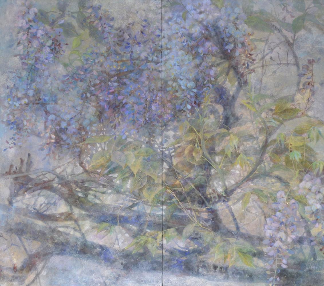 Time Passed - Contemporary Nihonga (Japanese Painting)