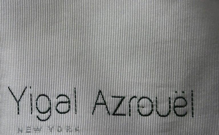 Yigal Azrouel Windowpane Plaid Coat  For Sale 1