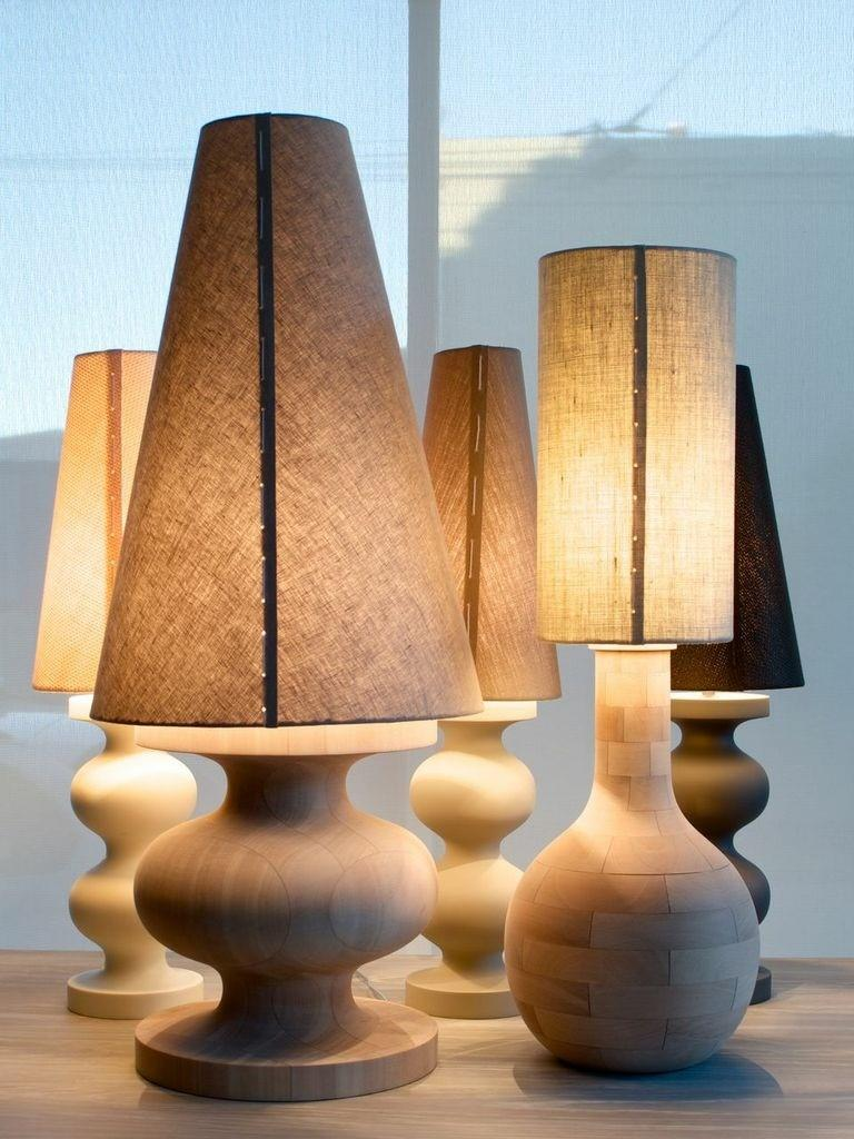 Yin-Check Table Lamp by Wende Reid In New Condition For Sale In Paddington, NSW