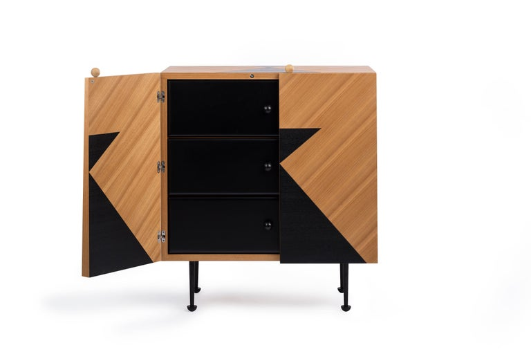 Yin-Yang Chest Drawers Designed by Thomas Dariel For Sale 3