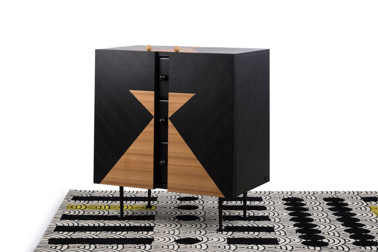 Modern Yin-Yang Chest Drawers Designed by Thomas Dariel For Sale