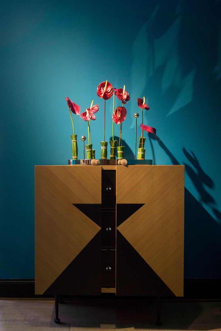 Yin-Yang Chest Drawers Designed by Thomas Dariel In New Condition For Sale In Geneve, CH