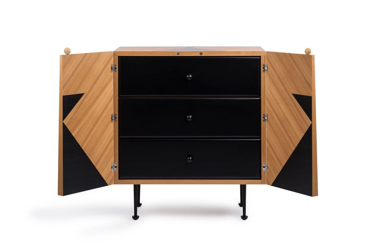 Contemporary Yin-Yang Chest Drawers Designed by Thomas Dariel For Sale