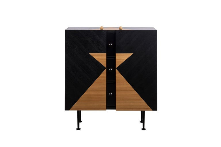 Yin-Yang Chest Drawers Designed by Thomas Dariel For Sale 1