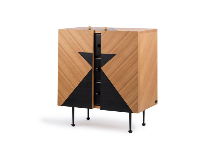 Yin-Yang Chest Drawers Designed by Thomas Dariel For Sale 2