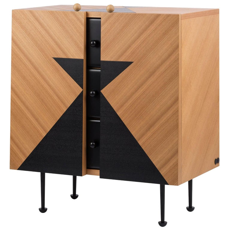 Yin-Yang Chest Drawers Designed by Thomas Dariel For Sale