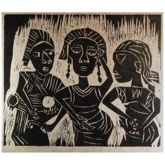 Yinka Adeyemi 'Born 1945, Iragjibi, Nigeria' Traditional Dance & Music. Tribal