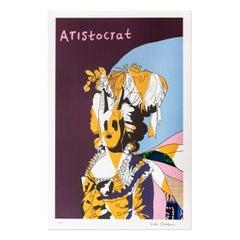 Aristocrat in Blue, Contemporary Art, British Artist