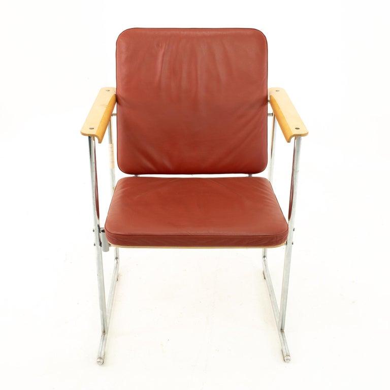 Metal Yjro Kukkapuro Midcentury Dining Chairs, Set of 8 For Sale